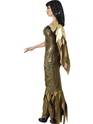Adult Dark Cleopatra Costume  - Back View - Thumbnail