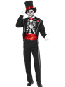 Adult Day of the Dead Costume Thumbnail
