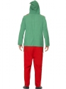 Adult Elf Onesie Costume  - Side View - Thumbnail