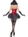 Adult Fever Seductive Vamp Costume  - Side View - Thumbnail