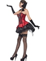 Adult Fever Seductive Vamp Costume  - Back View - Thumbnail