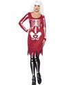 Adult Red Beauty Bones Costume Thumbnail