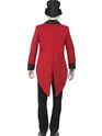 Adult Sinister Ringmaster Costume  - Side View - Thumbnail