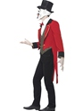 Adult Sinister Ringmaster Costume  - Back View - Thumbnail