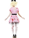 Adult Zombie Minnie Rodent Costume  - Side View - Thumbnail