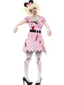 Adult Zombie Minnie Rodent Costume Thumbnail