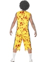 Adult Zombie Basketball Costume  - Side View - Thumbnail