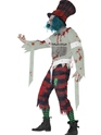 Adult Zombie Hatter Costume  - Back View - Thumbnail