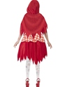 Adult Zombie Red Riding Costume  - Side View - Thumbnail