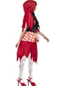 Adult Zombie Red Riding Costume  - Back View - Thumbnail