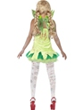 Adult Zombie Tink Fairy Costume  - Side View - Thumbnail