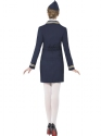 Adult Airways Attendant Costume  - Side View - Thumbnail