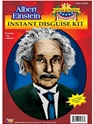 Adult Albert Einstein Wig and Moustache  - Back View - Thumbnail