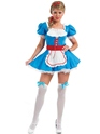 Adult Alice Costume  - Back View - Thumbnail