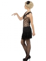 Adult All That Jazz 1920's Flapper Costume  - Back View - Thumbnail