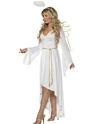 Adult Angel Costume  - Back View - Thumbnail