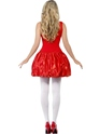 Angry Birds Red Female Costume  - Side View - Thumbnail