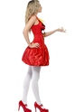 Angry Birds Red Female Costume  - Back View - Thumbnail