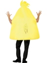 Adult Angry Birds Yellow Costume  - Side View - Thumbnail