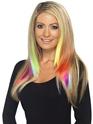 Aqua Hair Extensions  - Back View - Thumbnail