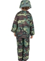 Child Army Boy Costume  - Side View - Thumbnail