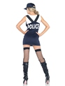 Adult Arresting Officer Costume  - Back View - Thumbnail