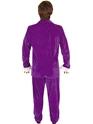 Adult Austin Powers Purple Costume  - Side View - Thumbnail