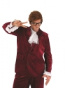 Adult Austin Powers Red Costume  - Back View - Thumbnail