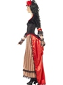 Adult Authentic Western Town Sweetheart Costume  - Back View - Thumbnail