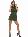 Adult Aviator Girl Costume  - Back View - Thumbnail