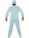 Baby Onesie Costume Blue  - Back View - Thumbnail