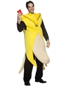 Adult Banana Flasher Costume  - Back View - Thumbnail