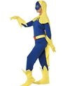 Adult Bananawomen Costume  - Back View - Thumbnail