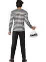 Adult Bank Robber Costume  - Side View - Thumbnail