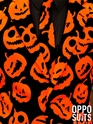 Adult Pumpking Oppo Suit  - Side View - Thumbnail