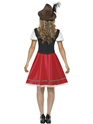 Adult Bavarian Beer Wench Oktoberfest Costume  - Side View - Thumbnail