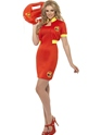 Adult Ladies Baywatch Beach Lifeguard Costume Thumbnail