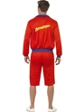 Adult Baywatch Beach Mens Lifeguard Costume  - Side View - Thumbnail