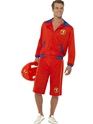 Adult Baywatch Beach Men's Lifeguard Costume Thumbnail