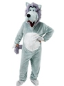 Adult Big Head Wolf Costume Thumbnail