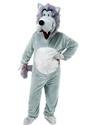 Adult Big Head Wolf Costume Thumbnail