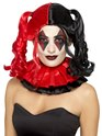 Black and Red Twisted Harlequin Wig Thumbnail