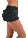 Adult Burlesque Black Bustle Pants  - Back View - Thumbnail
