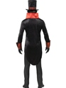 Adult Black Dracula Costume  - Side View - Thumbnail