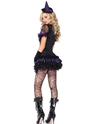Adult Black Magic Babe Costume  - Back View - Thumbnail