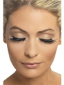 Black Sparkle Eyelashes  - Back View - Thumbnail