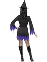Adult Black Witch Costume  - Side View - Thumbnail