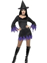 Adult Black Witch Costume Thumbnail