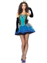 Adult Blue Beauty Ladies Costume Thumbnail