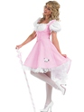Adult Bo Peep Long Costume  - Back View - Thumbnail